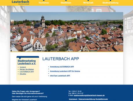 Lauterbach entdecken – App
