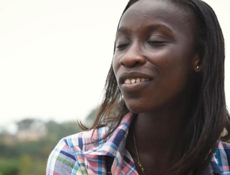 Georgina aus Ghana